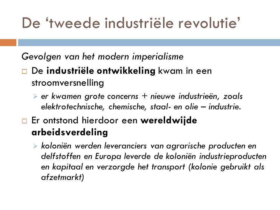 De 'tweede industriële revolutie'