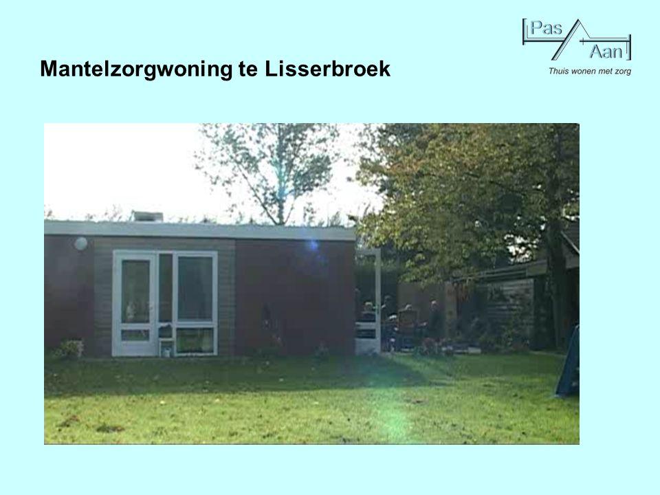 Mantelzorgwoning te Lisserbroek
