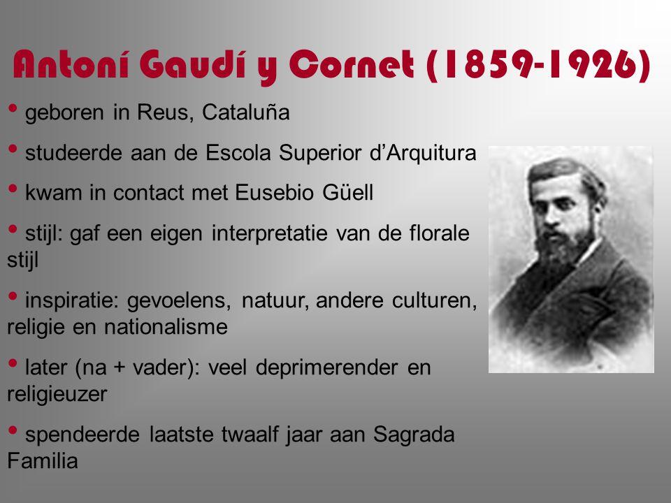 Antoní Gaudí y Cornet (1859-1926)
