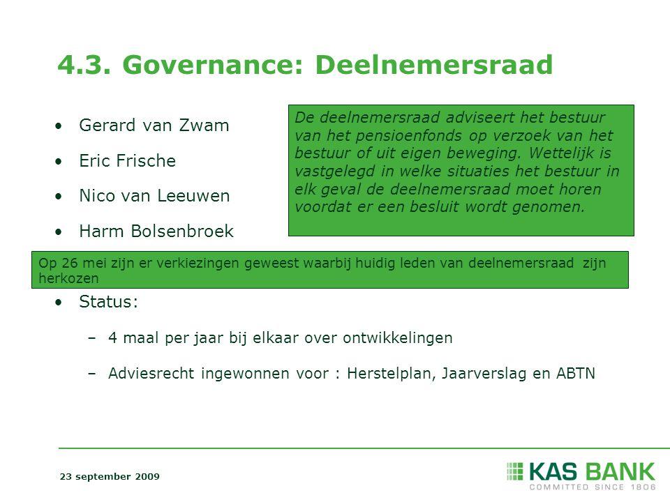 4.3. Governance: Deelnemersraad