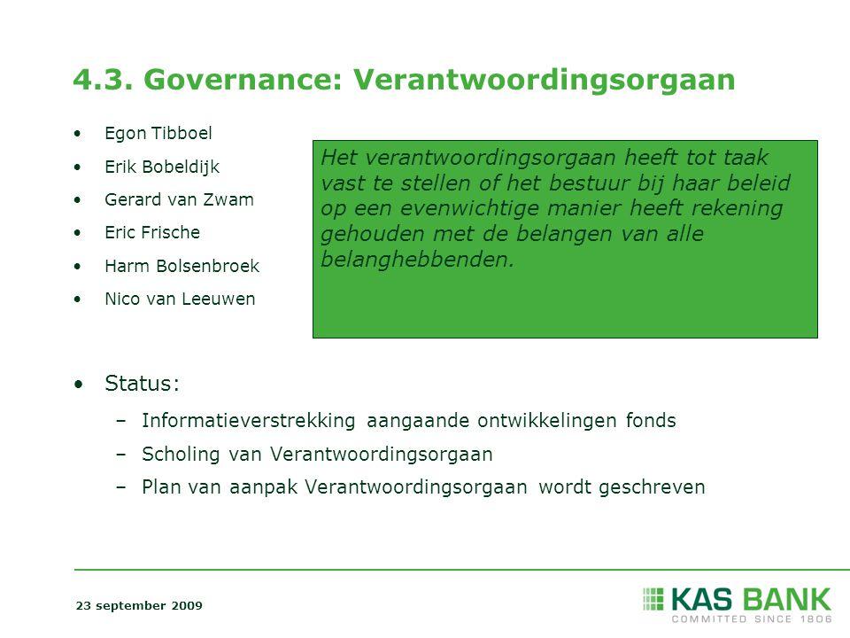 4.3. Governance: Verantwoordingsorgaan