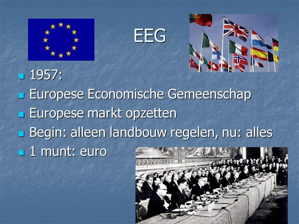 EEG 1957: Europese Economische Gemeenschap Europese markt opzetten