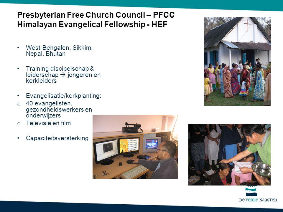 Presbyterian Free Church Council – PFCC Himalayan Evangelical Fellowship - HEF