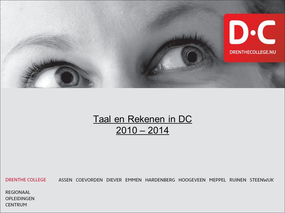 Taal en Rekenen in DC 2010 – 2014 Titel in kapitalen met onderlijn, lettertype Arial Size 24 Bold, indien aanwezig lettertype Monitor Bold nemen.