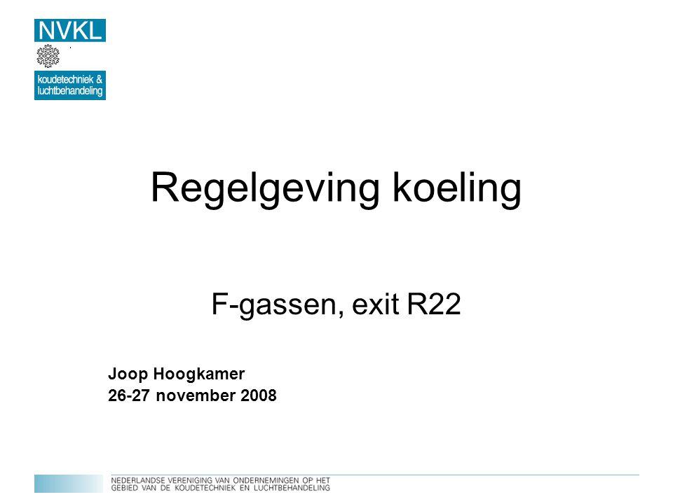 F-gassen, exit R22 Joop Hoogkamer 26-27 november 2008