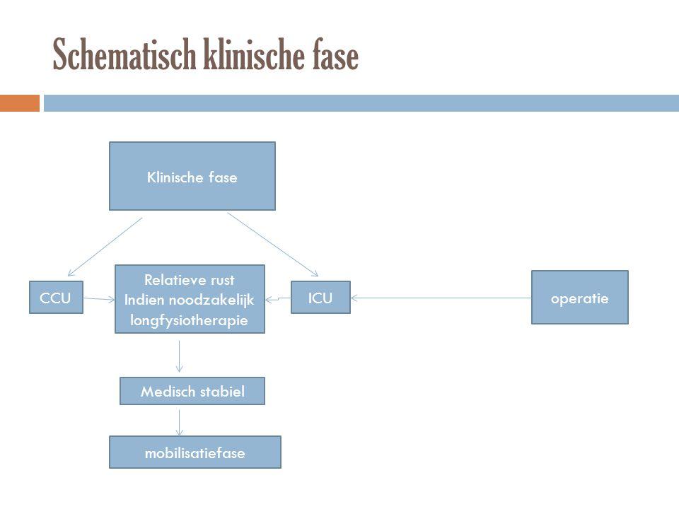 Schematisch klinische fase