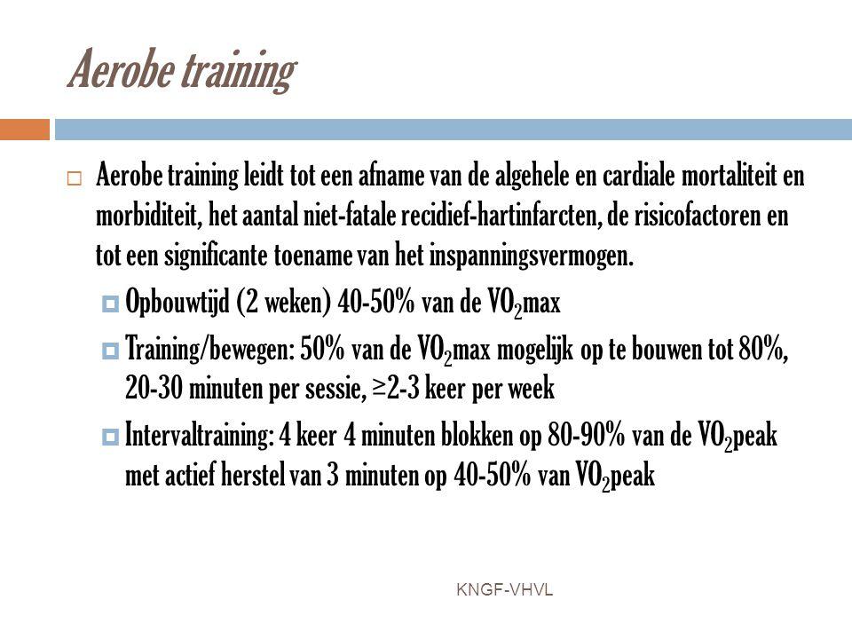 Aerobe training