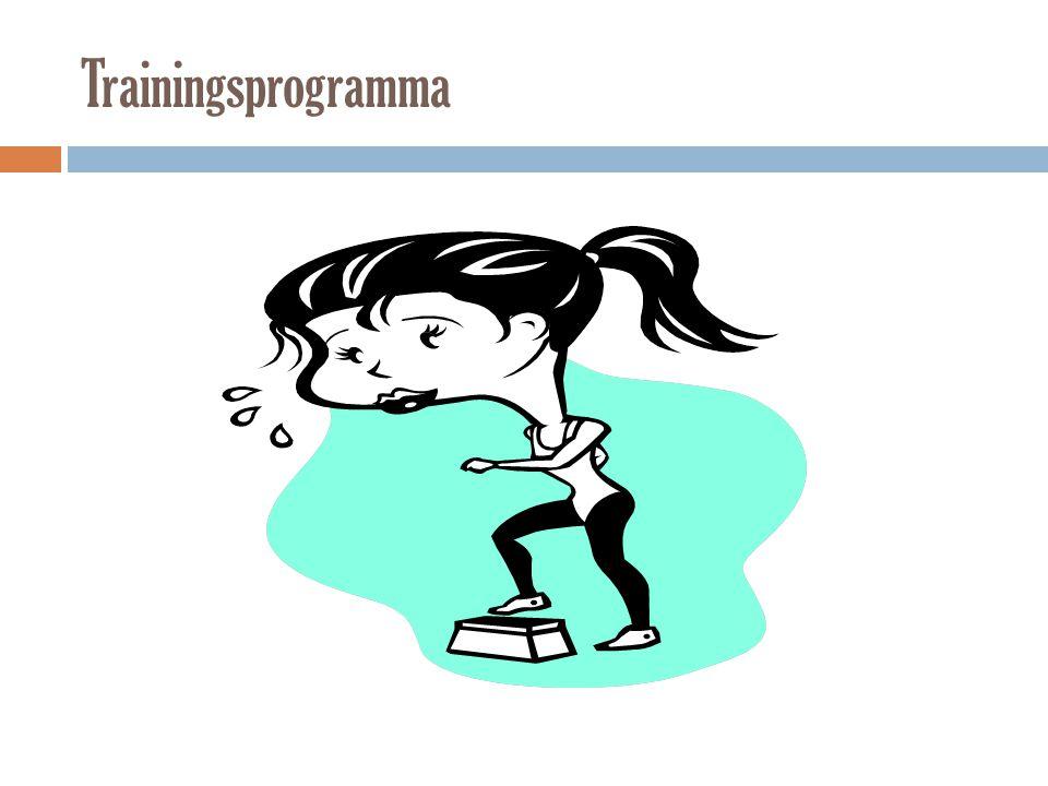 Trainingsprogramma