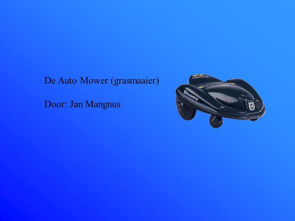 De Auto Mower (grasmaaier)