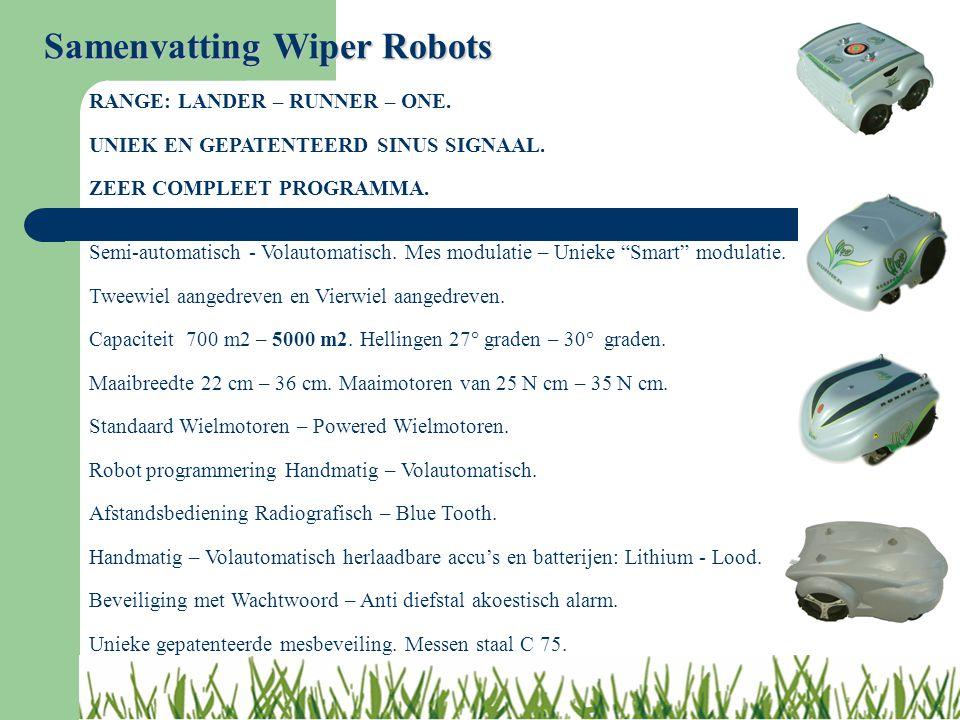 Samenvatting Wiper Robots