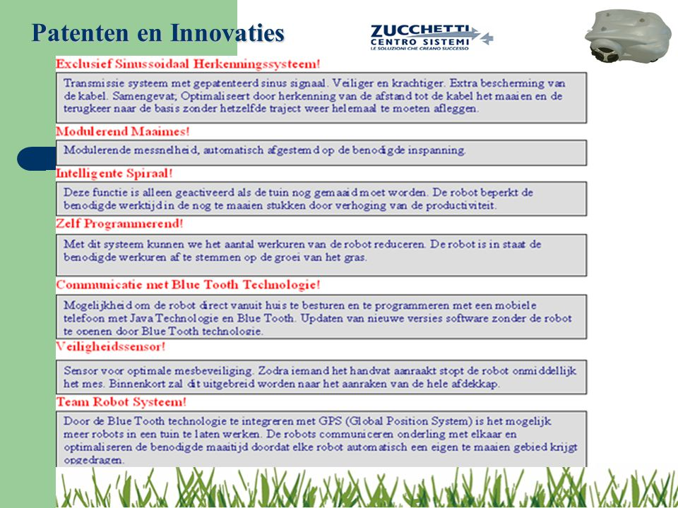 Patenten en Innovaties
