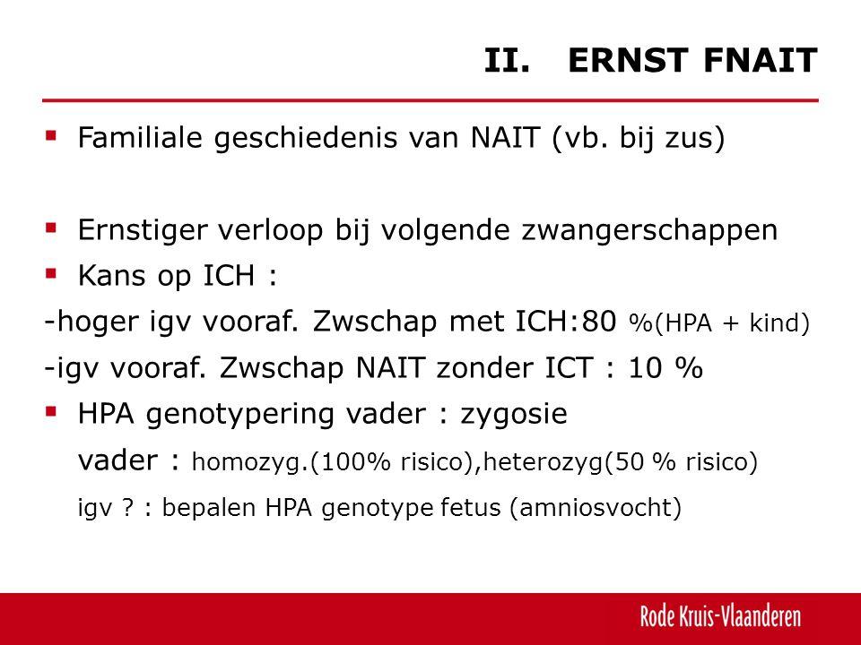 II. ERNST FNAIT Familiale geschiedenis van NAIT (vb. bij zus)
