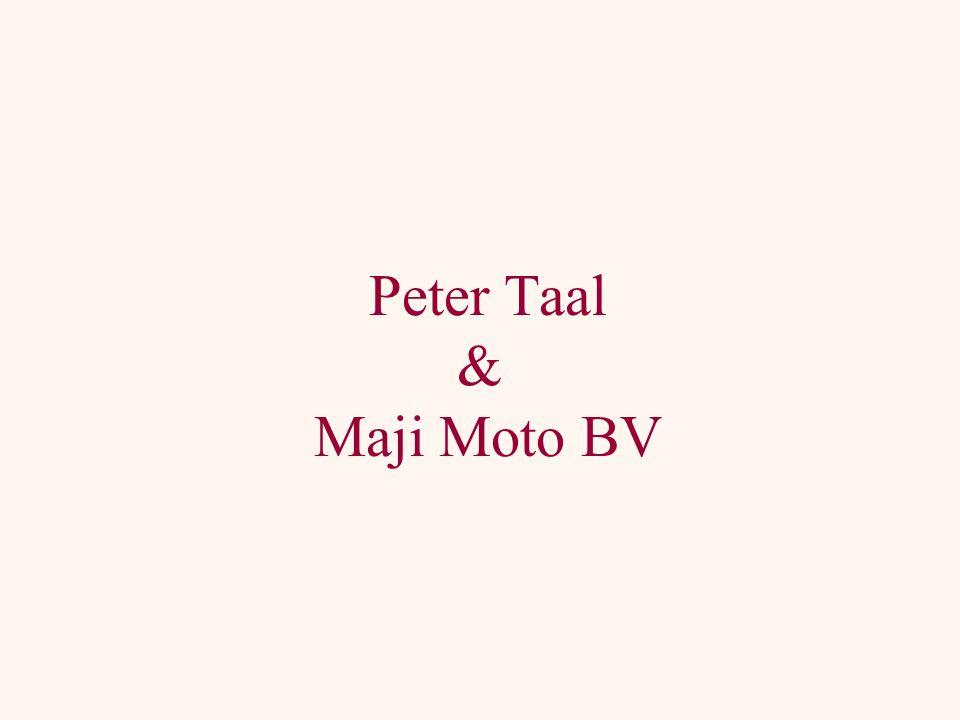 Peter Taal & Maji Moto BV
