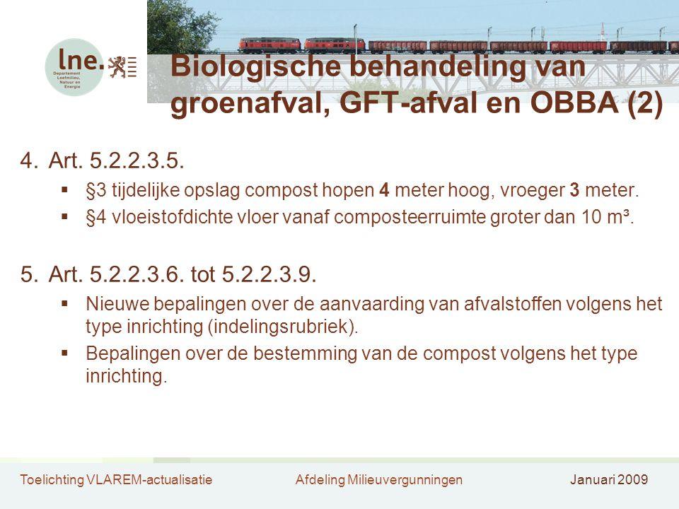 Biologische behandeling van groenafval, GFT-afval en OBBA (2)