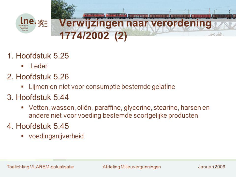 Verwijzingen naar verordening 1774/2002 (2)