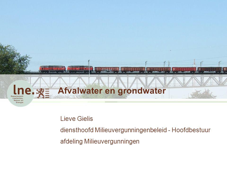 Afvalwater en grondwater