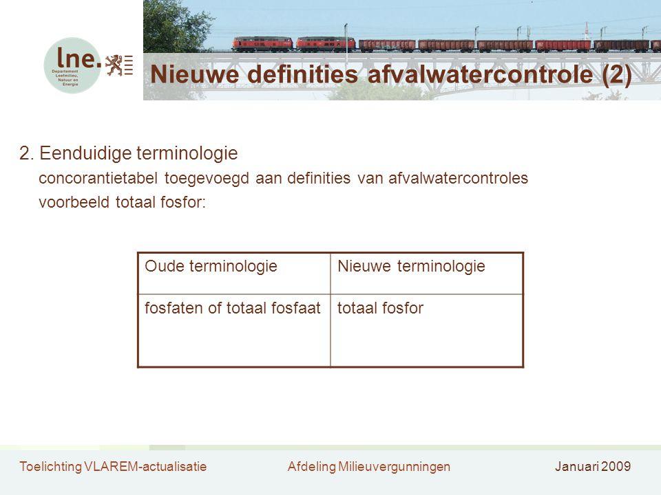 Nieuwe definities afvalwatercontrole (2)