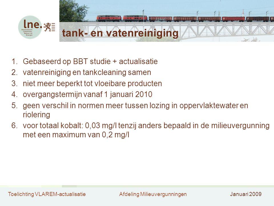 tank- en vatenreiniging