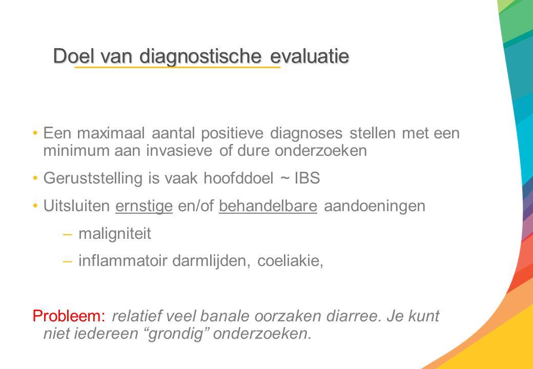Doel van diagnostische evaluatie
