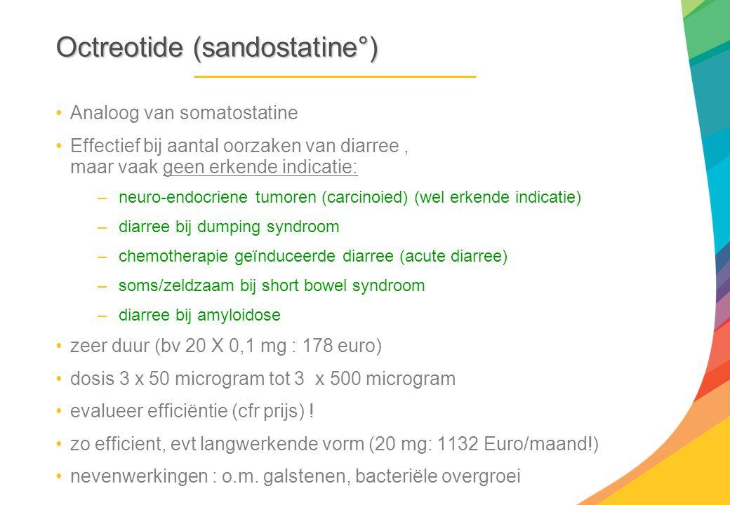 Octreotide (sandostatine°)