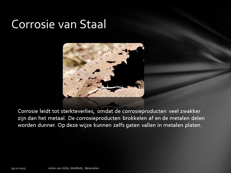 Corrosie van Staal