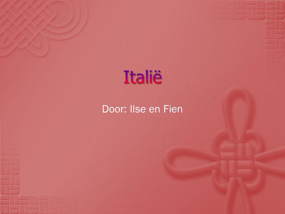 Italië Door: Ilse en Fien