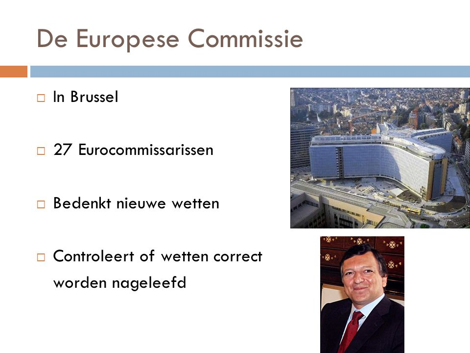 De Europese Commissie In Brussel 27 Eurocommissarissen