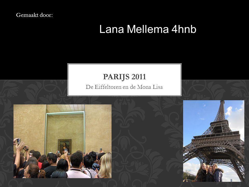 De Eiffeltoren en de Mona Lisa