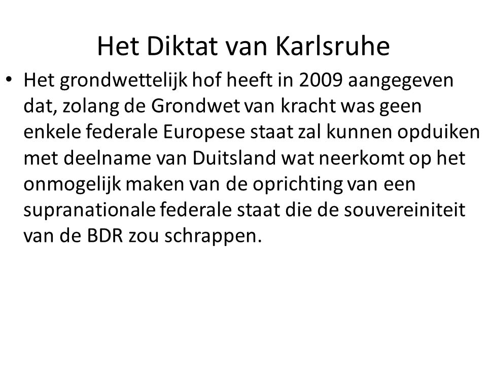 Het Diktat van Karlsruhe