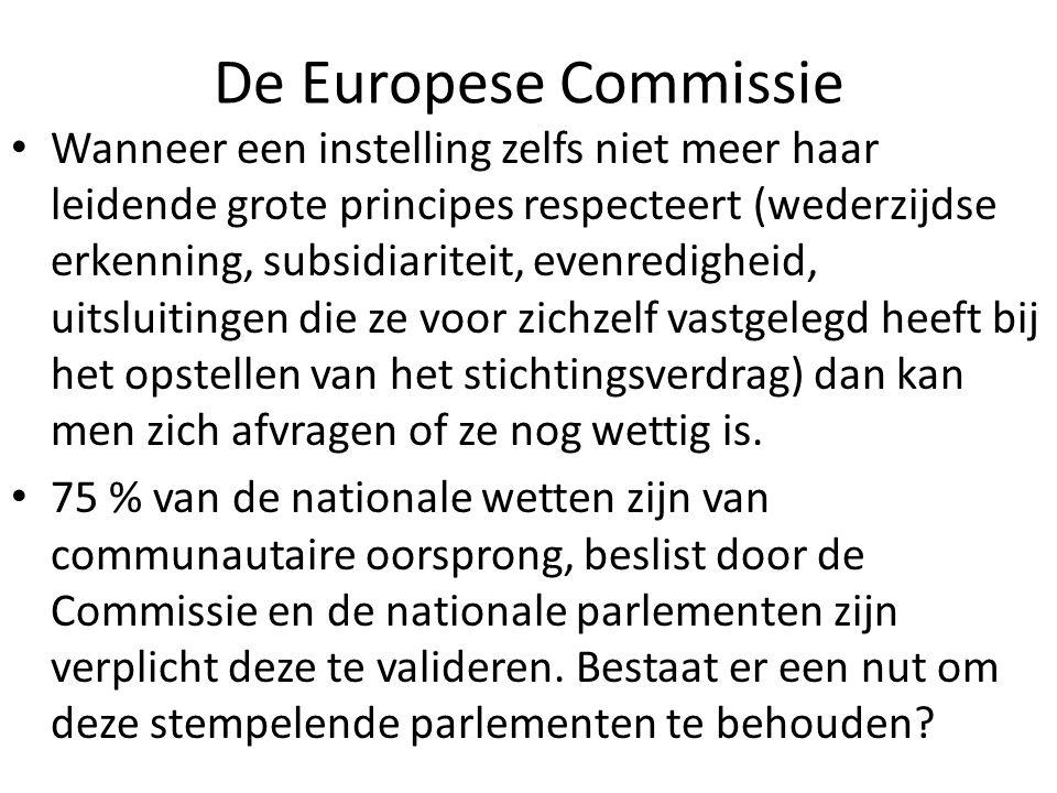 De Europese Commissie