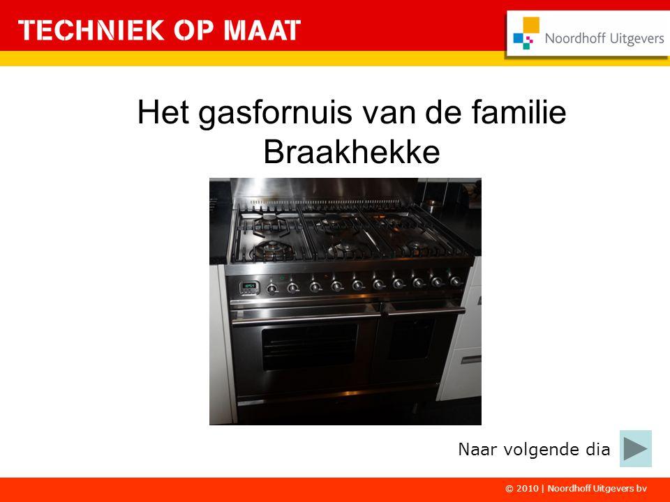 Het gasfornuis van de familie Braakhekke