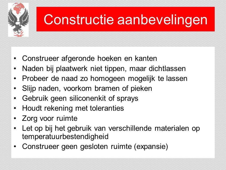Constructie aanbevelingen