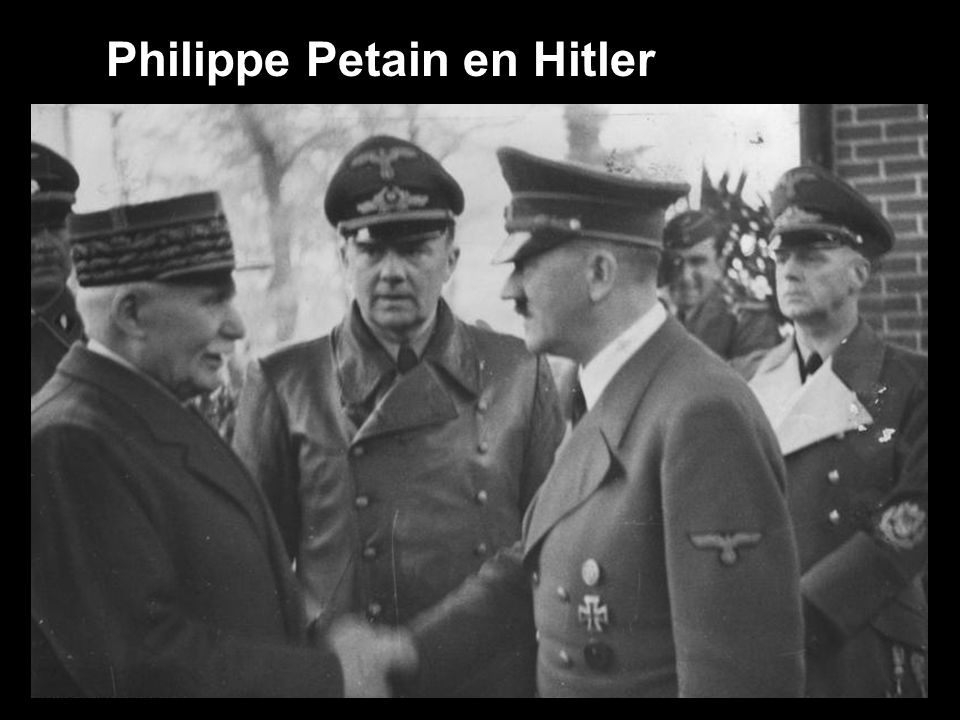 Philippe Petain en Hitler
