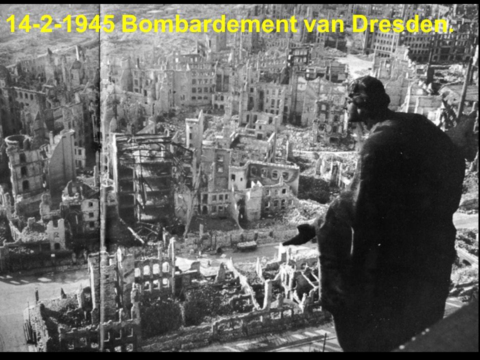 14-2-1945 Bombardement van Dresden.