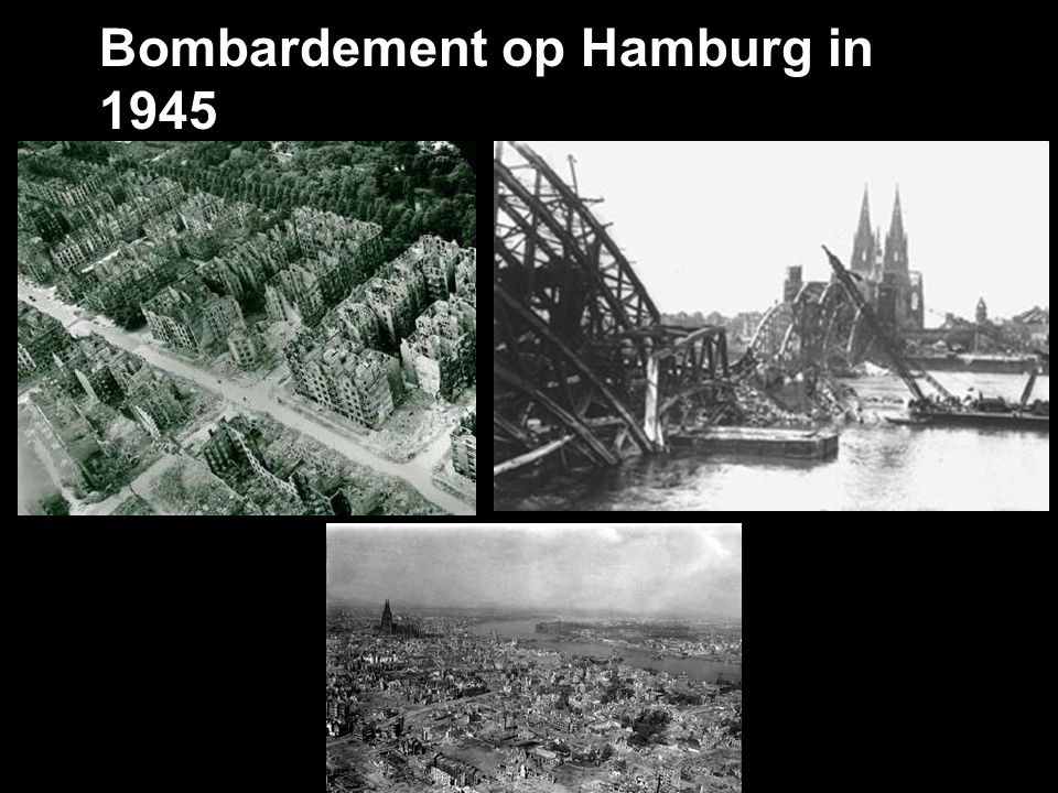 Bombardement op Hamburg in 1945