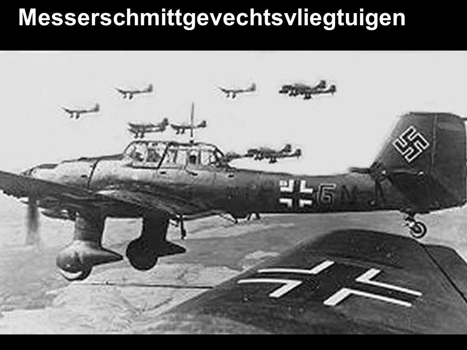 Messerschmittgevechtsvliegtuigen