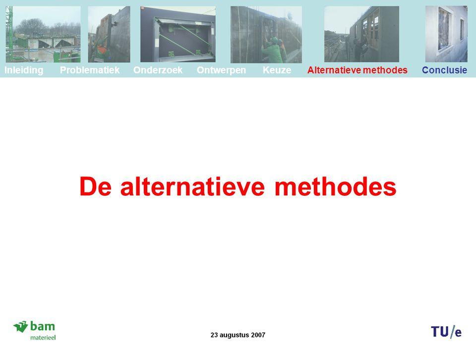 De alternatieve methodes