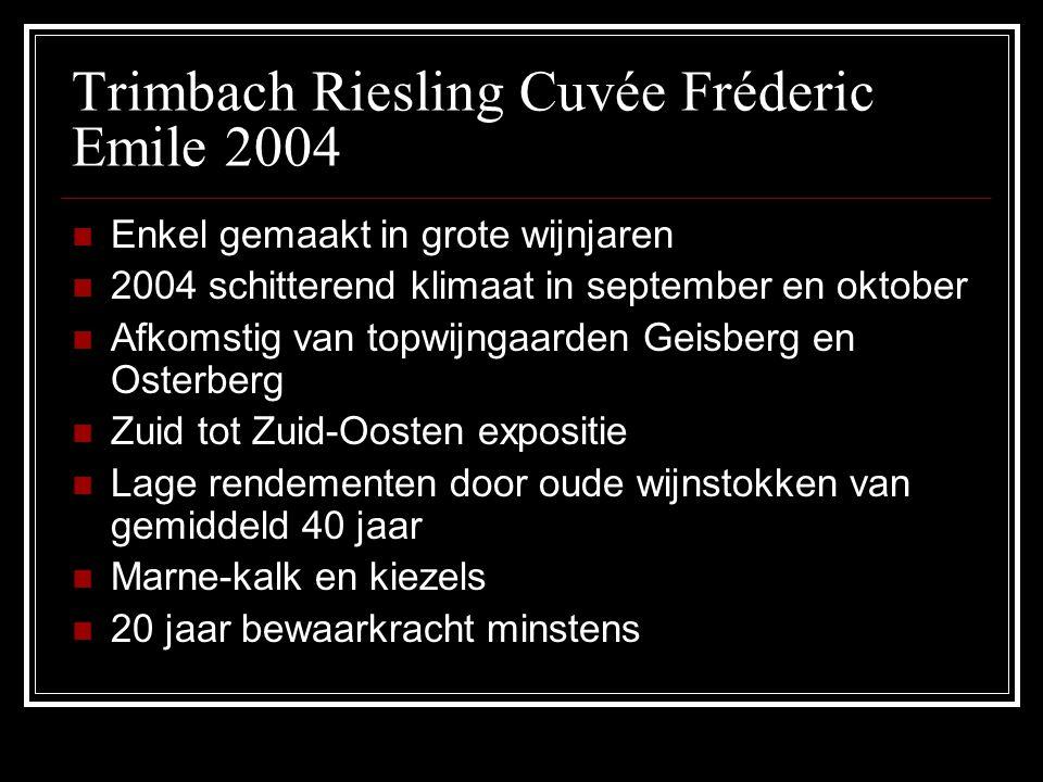 Trimbach Riesling Cuvée Fréderic Emile 2004