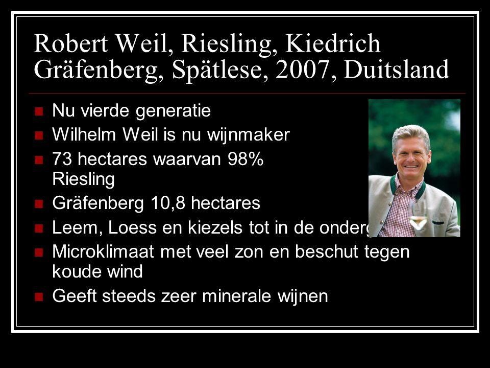 Robert Weil, Riesling, Kiedrich Gräfenberg, Spätlese, 2007, Duitsland