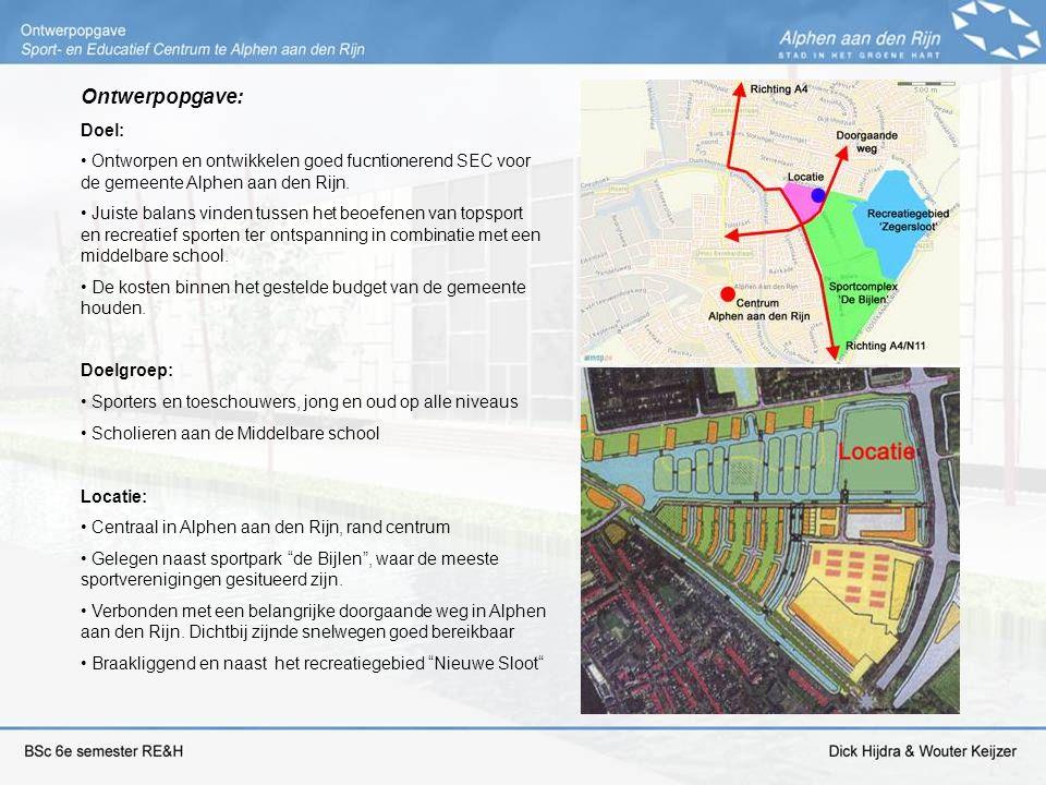 Ontwerpopgave: Doel: Ontworpen en ontwikkelen goed fucntionerend SEC voor de gemeente Alphen aan den Rijn.