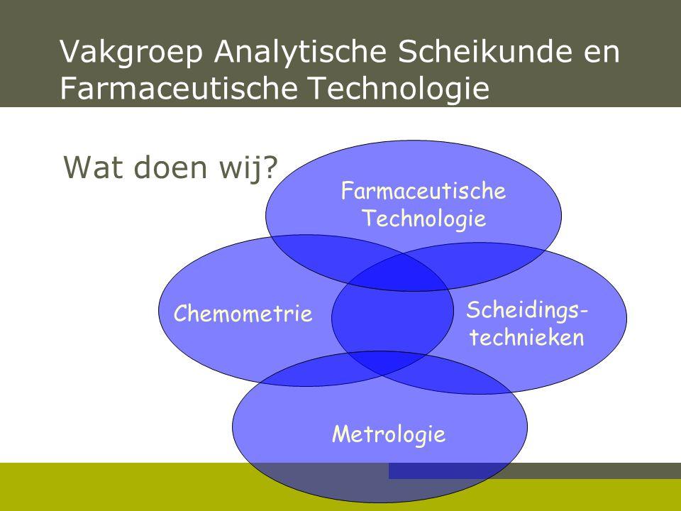 Vakgroep Analytische Scheikunde en Farmaceutische Technologie