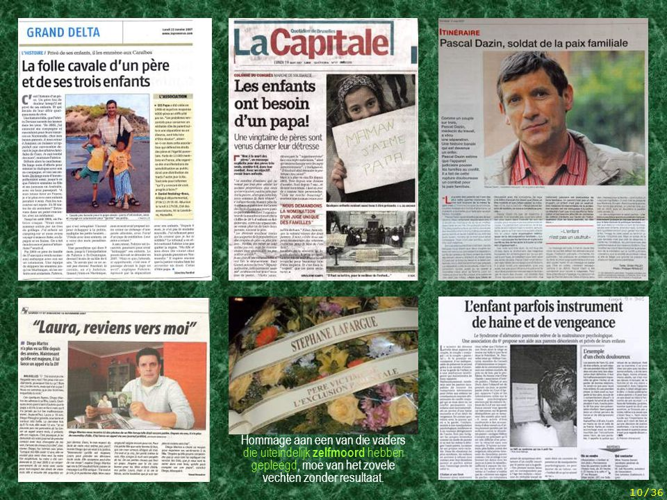5 articles de presse + hommage