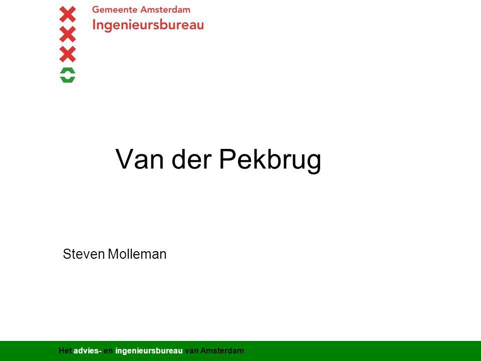 Van der Pekbrug Steven Molleman Titel presentatie Gemeente Amsterdam