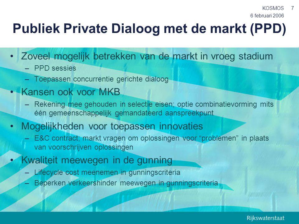 Publiek Private Dialoog met de markt (PPD)