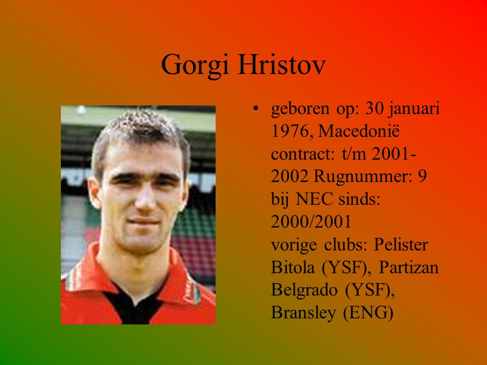 Gorgi Hristov