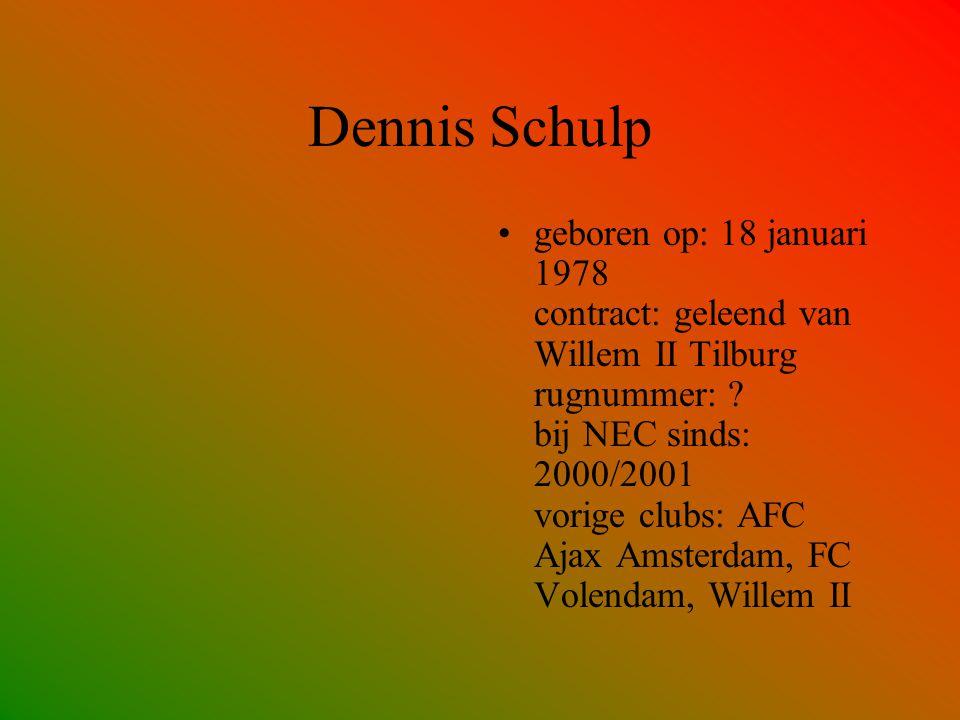 Dennis Schulp