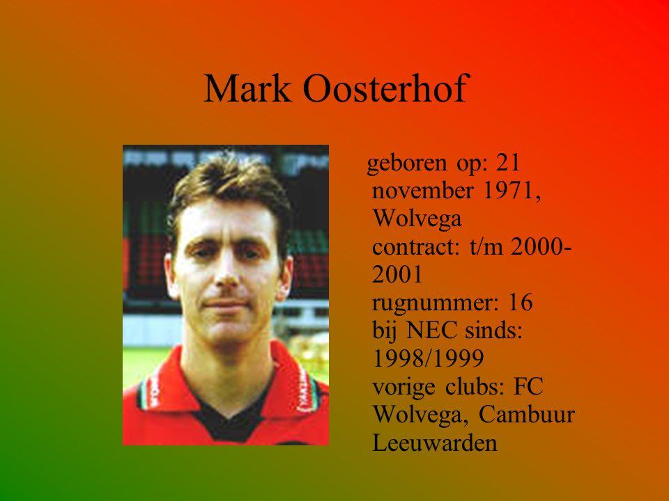 Mark Oosterhof