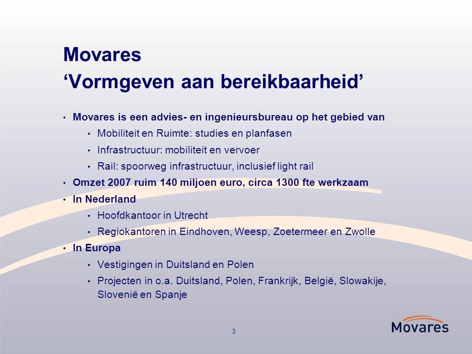 Movares 'Vormgeven aan bereikbaarheid'