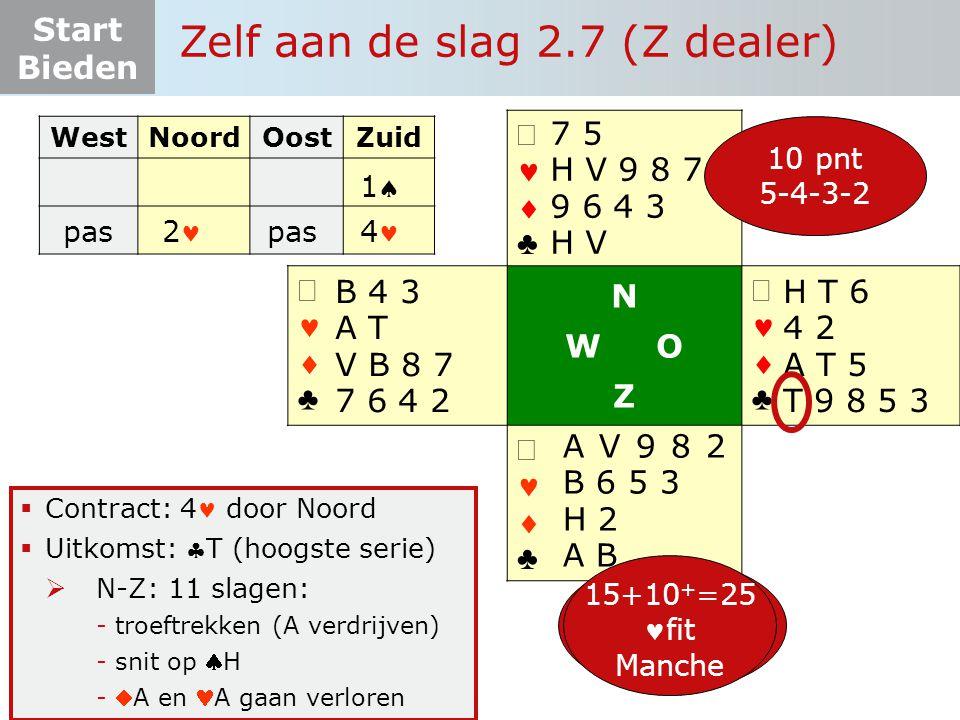 Zelf aan de slag 2.7 (Z dealer)