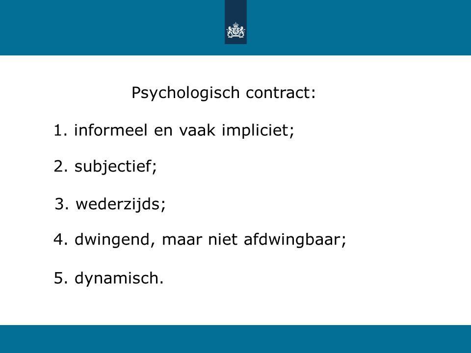 Psychologisch contract: